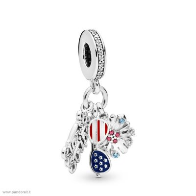 Pandora Sconto American Icons Dangle Charm