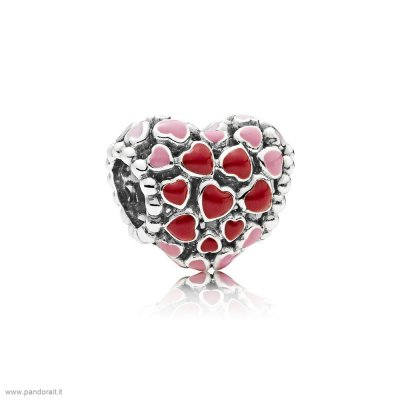 Pandora Sconto Burst Of Amore Charm Mixed Enamel